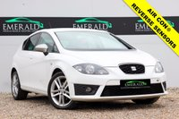 "USED 2011 61 SEAT LEON 1.4 TSI FR 5d 123 BHP **£0 DEPOSIT FINANCE AVAILABLE**SECURE WITH A £99 FULLY REFUNDABLE DEPOSIT** FULL SERVICE HISTORY, FULL MOT, REVERSE SENSORS, CD PAYER, AUX/USB CONNECTION, PRIVACY GLASS, 18"" ALLOYS, AIR CON, DUAL CLIMATE CONTROL, ELECTRIC WINDOWS & ELECTRIC HEATED WING MIRRORS"