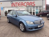 USED 2010 60 MERCEDES-BENZ C CLASS 2.1 C200 CDI BLUEEFFICIENCY EXECUTIVE SE 4d AUTO 136 BHP STUNNING CAR