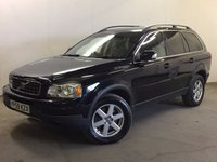 USED 2009 59 VOLVO XC90 2.4 D5 ACTIVE AWD 5d AUTO 185 BHP 7 SEATER LEATHER PRIVACY PDC 4WD. 7 SEATER. STUNNING BLACK MET WITH PART BLACK LEATHER TRIM. CRUISE CONTROL. 17 INCH ALLOYS. COLOUR CODED TRIMS. PRIVACY GLASS. PARKING SENSORS. CLIMATE CONTROL. R/CD PLAYER. MFSW. DETACHABLE TOWBAR. MOT 07/18. FULL SERVICE HISTORY. PRISTINE CONDITION. FCA FINANCE APPROVED DEALER. TEL 01937 849492.