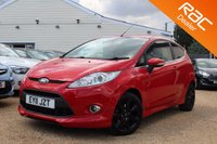 USED 2011 11 FORD FIESTA 1.6 TITANIUM 3d 118 BHP Sony Stereo, Bluetooth & more