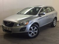 USED 2010 59 VOLVO XC60 2.4 D5 SE LUX PREMIUM AWD 5d AUTO 205 BHP SAT NAV SUNROOF LEATHER FSH NO FINANCE REPAYMENTS FOR 2 MONTHS STC. 4WD. SATELLITE NAVIGATION. SUNROOF. STUNNING SILVER MET WITH FULL BLACK LEATHER TRIM. ELECTRIC MEMORY HEATED SEATS. CRUISE CONTROL. 18 INCH ALLOYS. COLOUR CODED TRIMS. PARKING SENSORS. CLIMATE CONTROL. R/CD PLAYER. MFSW. MOT 03/18. SERVICE HISTORY. PRISTINE CONDITION. FCA FINANCE APPROVED DEALER. TEL 01937 849492.