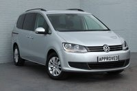 USED 2012 12 VOLKSWAGEN SHARAN 2.0 SE TDI 5d 142 BHP POWER REAR DOORS +PARK ASSIST