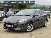 USED 2012 12 MAZDA 3 1.6 SPORT 5d 103 BHP High Specification, Petrol Hatchback