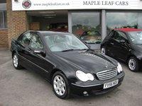 2007 MERCEDES-BENZ C CLASS 1.8 C200 KOMPRESSOR ELEGANCE SE 4d AUTO 163 BHP £3950.00