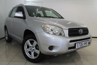 USED 2006 06 TOYOTA RAV4 2.2 XT3 D-4D 5DR 135 BHP TOYOTA SERVICE HISTORY + AIR CONDITIONING + RADIO/CD + ELECTRIC WINDOWS + ALLOY WHEELS