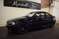2004 BMW M3 3.2 M3 SMG 2d 338 BHP £9500.00