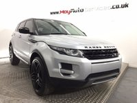 """USED 2014 14 LAND ROVER RANGE ROVER EVOQUE 2.2 SD4 PURE 5d AUTO 190 BHP *** CONTRAST ROOF & UPGRADED 20"""" BLACK ALLOYS ***"""