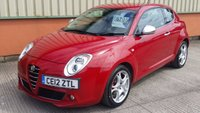 USED 2012 12 ALFA ROMEO MITO 1.4 TB MULTIAIR DISTINCTIVE 3d 105 BHP