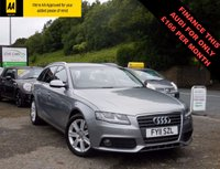 USED 2011 11 AUDI A4 2.0 AVANT TDI SE DPF 5d AUTO 141 BHP GENUINE LOW MILEAGE EXAMPLE WITH FULL SERVICE HISTORY AND A LONG MOT! REAR PARKING SENSORS, CRUISE CONTROL AND BLUETOOTH!