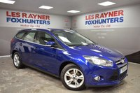 USED 2014 14 FORD FOCUS 1.6 ZETEC TDCI 5d 113 BHP Full Ford Service History , 1 Owner from new , DAB radio