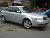 USED 2004 54 AUDI A4 1.9 TDI SE 4d AUTO 129 BHP GREAT HISTORY+NICE EXAMPLE