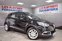 USED 2014 14 RENAULT CAPTUR 1.5 DYNAMIQUE MEDIANAV ENERGY DCI S/S 5d 90 BHP Full Renault Service History , Free Road Tax , Full Leather