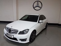 2013 MERCEDES-BENZ C CLASS 2.1 C220 CDI BLUEEFFICIENCY AMG SPORT PLUS 4d AUTO 168 BHP £13777.00