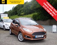USED 2013 13 FORD FIESTA 1.0 TITANIUM X 5d 124 BHP TOP OF THE RANGE FORD FIESTA WITH FULL LEATHER HEATED SEATS, SAT NAV, BLUETOOTH, SONY SOUND SYSTEM!!