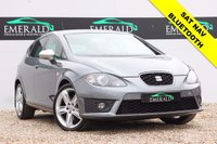 """USED 2012 12 SEAT LEON 2.0 CR TDI FR PLUS 5d 168 BHP **£0 DEPOSIT FINANCE AVAILABLE**SECURE WITH A £99 FULLY REFUNDABLE DEPOSIT** SAT NAV, BLUETOOTH, PARKING ASSIST, DAB RADIO, 18"""" ALLOYS WITH HANKOOK TIRES, CRUISE CONTROL, AIR CON + DUAL CLIMATE CONTROL, USB/AUX, FULL HSITORY + MOT"""