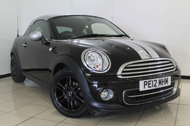View our 2012 12 MINI COUPE 1.6 COOPER 2DR CHILI PACK 120 BHP
