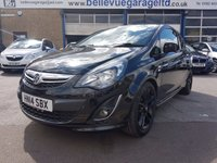USED 2014 14 VAUXHALL CORSA 1.2 LIMITED EDITION 3d 83 BHP STUNNING CORSA LIMITED EDITION