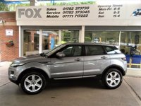 USED 2012 62 LAND ROVER RANGE ROVER EVOQUE 2.2 SD4 PURE TECH 5d AUTO 190 BHP 1 OWNER,SAT-NAV,LEATHER