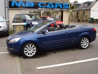 USED 2008 08 FORD FOCUS 2.0 CC3 2d 144 BHP ONLY 53000 MILES FROM NEW
