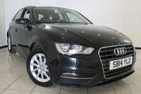 USED 2014 14 AUDI A3 2.0 TDI SE 5DR 148 BHP AUDI SERVICE HISTORY + AIR CONDITIONING + BLUETOOTH + MULTI FUNCTION WHEEL + RADIO/CD + ALLOY WHEELS