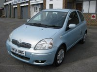 2005 TOYOTA YARIS 1.0 BLUE VVT-I 3d 68 BHP £1350.00