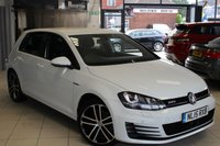 USED 2015 15 VOLKSWAGEN GOLF 2.0 GTD 5d 181 BHP TOUCH SCREEN MONITOR +  BLUETOOTH + 18 INCH ALLOYS + CRUISE CONTROL + PARKING SENSORS + DAB RADIO + XENONS