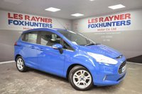 USED 2014 14 FORD B-MAX 1.4 ZETEC 5d 89 BHP Full Ford Service History , 1 owner from new , only 15k miles