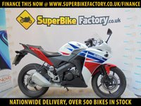 USED 2016 16 HONDA CBR125 R-F  GOOD & BAD CREDIT ACCEPTED, OVER 500+ BIKES