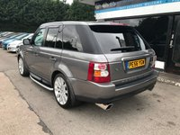 USED 2007 56 LAND ROVER RANGE ROVER SPORT 3.6 TDV8 SPORT HSE 5d AUTO 269 BHP