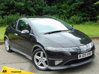 USED 2009 09 HONDA CIVIC 2.2 I-CTDI TYPE-S GT 3d 139 BHP 128 POINT AA INSPECTED*DUAL PANORAMIC SUNROOF