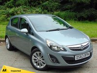 USED 2013 63 VAUXHALL CORSA 1.2 SE 5d 83 BHP LOW MILEAGE AND FULL SERVICE HISTORY