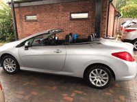 USED 2010 10 PEUGEOT 308 1.6 CC SPORT 2d 120 BHP COUPE CABRIOLET CONVERTIBLE