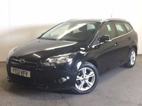 USED 2013 13 FORD FOCUS 1.6 ZETEC ECONETIC TDCI 5d 104 BHP FACELIFT ONE OWNER FSH £0 YEAR ROAD TAX. 76 MPG. FACELIFT MODEL. STUNNING BLACK MET WITH CONTRASTING BLACK/GREY CLOTH TRIM. CRUISE CONTROL. 16 INCH ALLOYS. COLOUR CODED TRIMS. BLUETOOTH PREP. CLIMATE CONTROL. R/CD PLAYER. 6 SPEED MANUAL. MFSW. MOT 04/18. ONE OWNER FROM NEW. FULL DEALER SERVICE HISTORY. PRISTINE CONDITION. FCA FINANCE APPROVED DEALER. TEL 01937 849492.