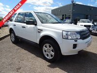 USED 2012 12 LAND ROVER FREELANDER 2.2 ED4 GS 5d 150 BHP ONE OWNER, 12 MONTH MOT 4 SERVICE STAMPS With contrasting Magnolia trim, cruise control, dual zone air conditioning, radio stereo CD player alpine sound system, ISO-fix, multifunction steering wheel, 6 speed gearbox, cup holders, power start, auto lights, manual pack, traction control, folding door mirrors, headlamp wash, front and rear park distance control, aux doc, winter floor protector over mats, full size spare unused load cover, 6 blade sports alloys