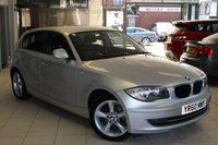 USED 2010 60 BMW 1 SERIES 2.0 118D SPORT 5d 141 BHP BMW SERVICE HISTORY + 17 INCH ALLOYS + CLIMATE CONTROL + ELECTRIC WINDOWS + FRONT SPORT SEATS + STOP/START SYSTEM