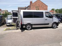 USED 2012 12 RENAULT MASTER NEW SHAPE 2.3 SL28 DCI WHEELCHAIR ACCESSIBLE RICON LIFT New Shape, Sat Nav, No VAT