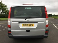USED 2013 13 MERCEDES-BENZ VITO 2.1 113 CDI TRAVELINER 5d 136 BHP EXCELLENT CONDITION THROUGHOUT, EXCELLENT DRIVER