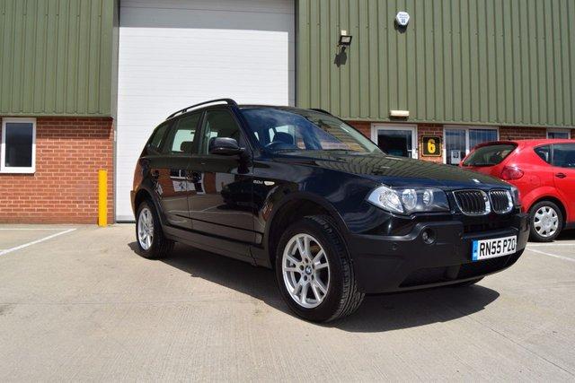 2006 55 BMW X3 2.0 D SE 5d 148 BHP