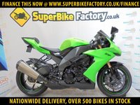 USED 2008 08 KAWASAKI ZX-10R E8F NINJA GOOD & BAD CREDIT ACCEPTED, OVER 500+ BIKES
