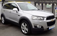 USED 2013 62 CHEVROLET CAPTIVA 2.2 LTZ VCDI 5d AUTO 184 BHP * * BUY NOW PAY IN 6 MONTHS * *