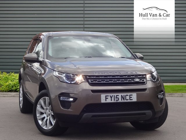 2015 15 LAND ROVER DISCOVERY SPORT 2.2 SD4 SE TECH 5d AUTO 190 BHP