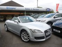 USED 2007 57 AUDI TT 2.0 TFSI 2d AUTO 200 BHP NEED FINANCE? WE STRIVE FOR 94% ACCEPTANCE