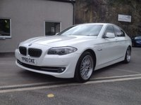 USED 2010 60 BMW 5 SERIES 2.0 520D SE 4d 181 BHP **F.S.H**£115 TAX**REAR ENTERTAINMENT PACK**