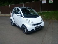 USED 2010 10 SMART FORTWO CABRIO 1.0 PASSION 2d AUTO 84 BHP Cabriolet SAT NAV, Full Leather, Heated Seats, Air Con