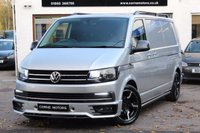 USED 2016 16 VOLKSWAGEN TRANSPORTER T6 SPORT X 2.0 TDI 140ps LWB T30 HIGHLINE PANEL VAN HUGE SPEC ** FULL SPORT X DESIGN PACK