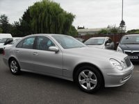 2003 MERCEDES-BENZ E CLASS 2.1 E220 CDI AVANTGARDE 4d AUTO 14 STAMPS IN THE SERVICE BOOK £2000.00