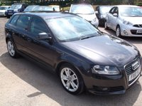 USED 2010 10 AUDI A3 2.0 SPORTBACK TDI SPORT 5d 138 BHP 2 OWNERS, FULL SERVICE HISTORY, STUNNING EXAMPLE THROUGHOUT, EXCELLENT SPEC,  DRIVES SUPERBLY