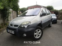 USED 2002 51 RENAULT SCENIC 2.0 RX4 16V 5d 140 BHP