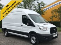 USED 2014 64 FORD TRANSIT 2.2TDCi 125 350 L3 H3 Lwb High Roof van Rwd Full history Delivery T,B,A