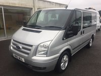 2012 FORD TRANSIT T280 LIMITED2.2 TDCi 140 6-SEATER CREW SWB  £SOLD